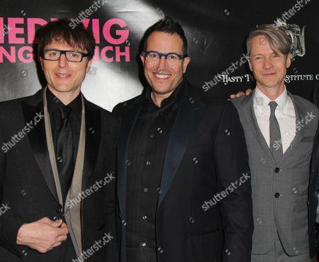 Stephen Trask, Michael Mayer and John Cameron Mitchell