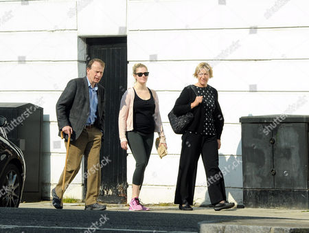 Andrew Marr with journalist wife Jackie Ashley and their daughter