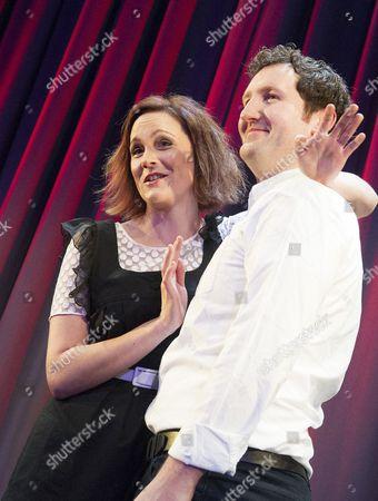 Rachael Stirling and John Hollingworth