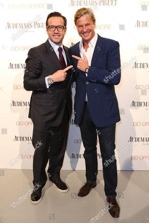 Audemars Piguet CEO Francois-Henry Bennahmias and Robert Hersov