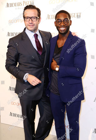 Stock Picture of Francois-Henry Bennahmias and Tinie Tempah