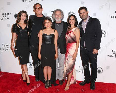 Stock Image of Laura Kaeppeler, Mike Fleiss, Shala Monet Weir, Bob Weir, Natascha Münter and Marc Weingarten