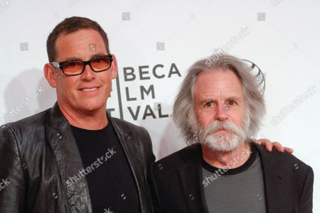 Stock Photo of Mike Fleiss and Bob Weir