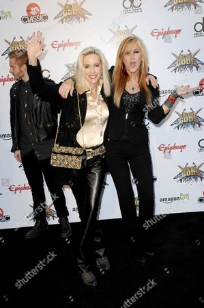 Lita Ford and Cherie Currie