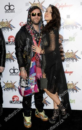 Bam Margera and Missy Rothstein