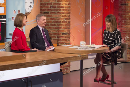 Stock Picture of Jayne Secker and Andrew Pierce with Kate Garraway