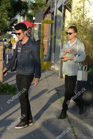 Joe Jonas and girlfriend Blanda Eggenschwiler