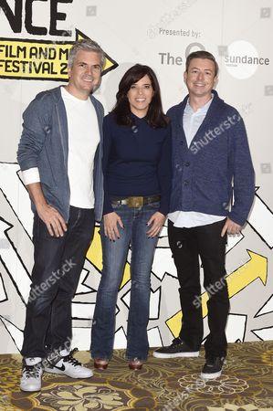 Dan Cutforth, Jane Lipsitz and Simon Rust Lamb