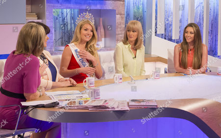 Ruth Langsford, Coleen Nolan, Kirsty Heslewood, Jane Moore and Michelle Heaton
