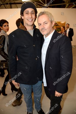 Editorial photo of Julian Schnabel 'Every Angel has a Dark Side' private view and party, London, Britain - 24 Apr 2014