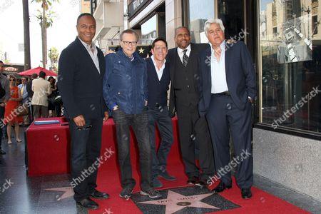 Ray Parker Jr., Larry King, Dave Koz, Tavis Smiley and Jay Leno