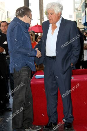 Larry King and Jay Leno