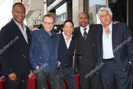 Editorial photo of Tavis Smiley honoured with star on the Hollywood Walk of Fame, Los Angeles, America - 24 Apr 2014