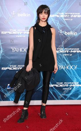Editorial picture of 'The Amazing Spider-Man 2' film premiere, New York, America - 24 Apr 2014