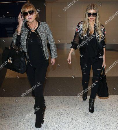 Fergie Duhamel and mother Theresa Ann Ferguson