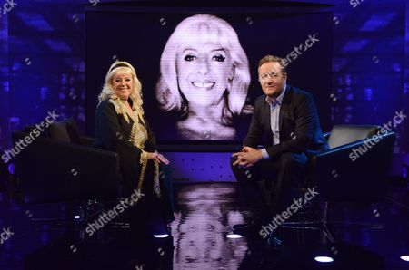 Julie Goodyear and Piers Morgan