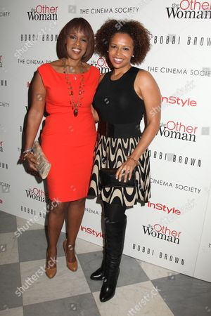 Gayle King and her daughter Kirby Bumpus