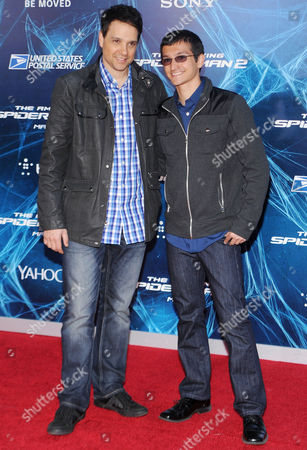 Stock Picture of Ralph Macchio and Daniel Macchio