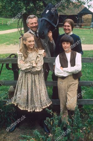 WILLIAM LUCAS, CHARLOTTE MILLER, JUDI BOWKER AND RODERICK SHAW IN 'BLACK BEAUTY' 1972