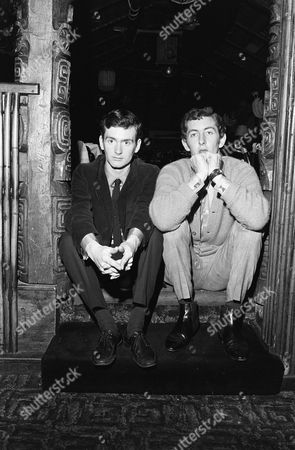 DAVE CASH AND KENNY EVERETT (left) , RADIO LONDON