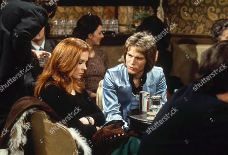 ADAM FAITH AND LYNN DALBY IN 'BUDGIE' - 1972