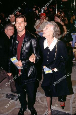 Stock Photo of Zen Gesner and mother Nan Martin