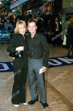 DECLAN DONNELLY AND CLARE BUCKFIELD