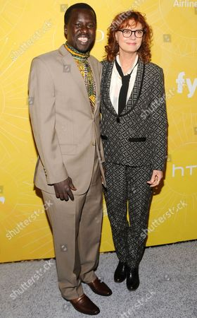 Okello Kelo Sam and Susan Sarandon