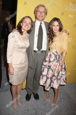 Katherine Brown, Peter Martins and Sarah Jessica Parker