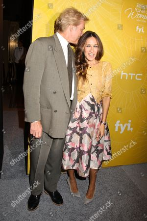 Peter Martins and Sarah Jessica Parker