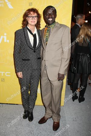 Susan Sarandon and Okello Kelo Sam