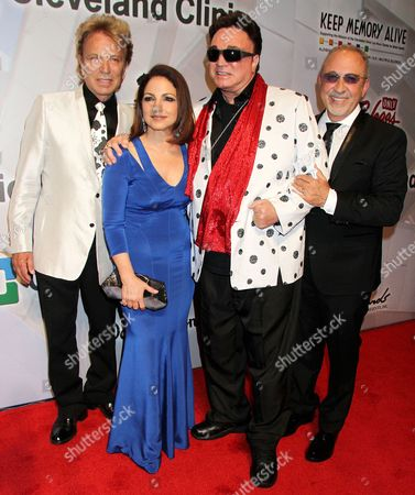 Gloria Estefan and Emilio Estefan with Siegfried and Roy - Siegfried Fischbacher, Roy Horn