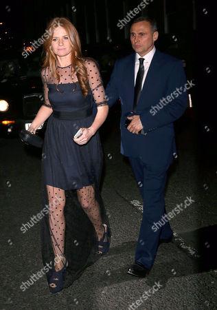 Stock Photo of Patsy Palmer and Richard Merkell