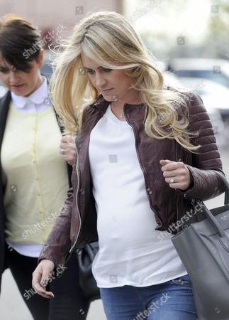 Helen McConnell pregnant wife of Jonny Evans