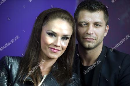 Katya Virshilas and Pasha Kovalev at the Wyvern Theatre
