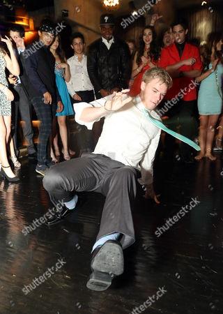 Kenton Duty on the dancefloor