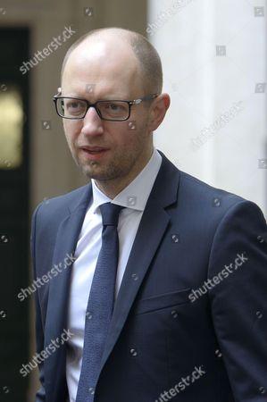 Ukraine Prime Minister Arsenij Jacenjuk
