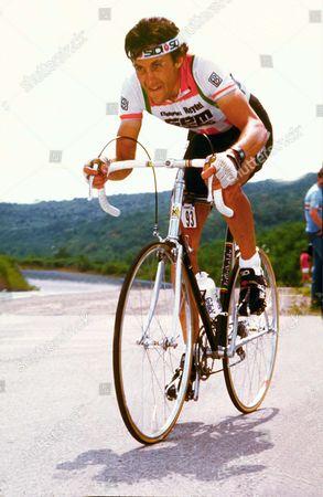 Stock Photo of Jonathan Boyer (USA) Dijon TT, Tour de France.