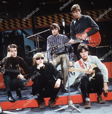 The Yardbirds - Paul Samwell Smith, Keith Relf, Jim McCarthy, Chris Dreja and Jeff Beck