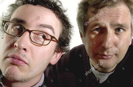 STEVE COOGAN AND HENRY NORMAL, PARTNERS IN THE 'BABY COW' PRODUCTION COMPANY