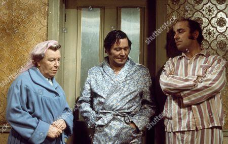 DORIS HARE, REG VARNEY AND MICHAEL ROBBINS 'ON THE BUSES' - 1970