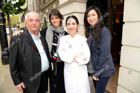 Guest, Helena Rizzo, Elena Arzak and Lanshu Chen