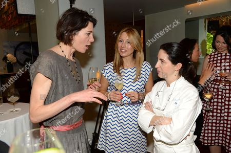 Thomasina Miers, guest and Elena Arzak