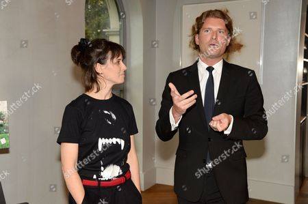Stock Photo of Helena Rizzo and guest