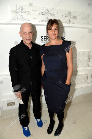 Adrian Joffe and Tracey Emin