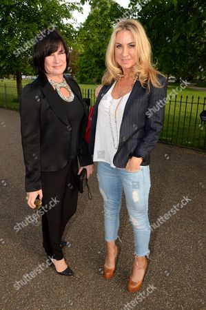Editorial picture of The Launch of 'Serpentine' fragrance by The Serpentine Gallery and Comme des Garcons with artwork by Tracey Emin, London, Britain - 28 Apr 2014
