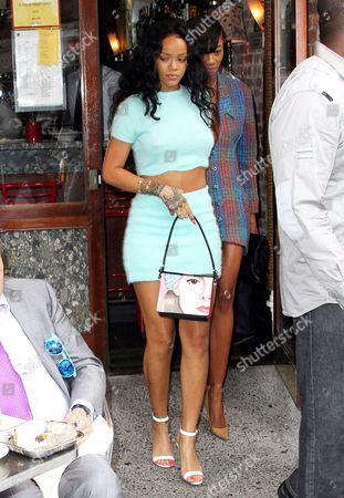 Rihanna and Melyssa Ford