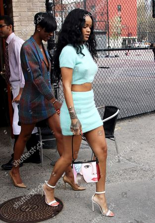 Melyssa Ford and Rihanna