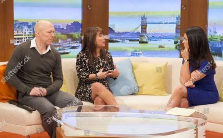 Ian Marshall and Jo Hemmings with Susanna Reid
