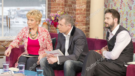 Stock Image of Christine Hamilton, Mark Williams-Thomas and Stig Abell